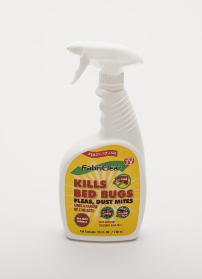 bug spray bottle