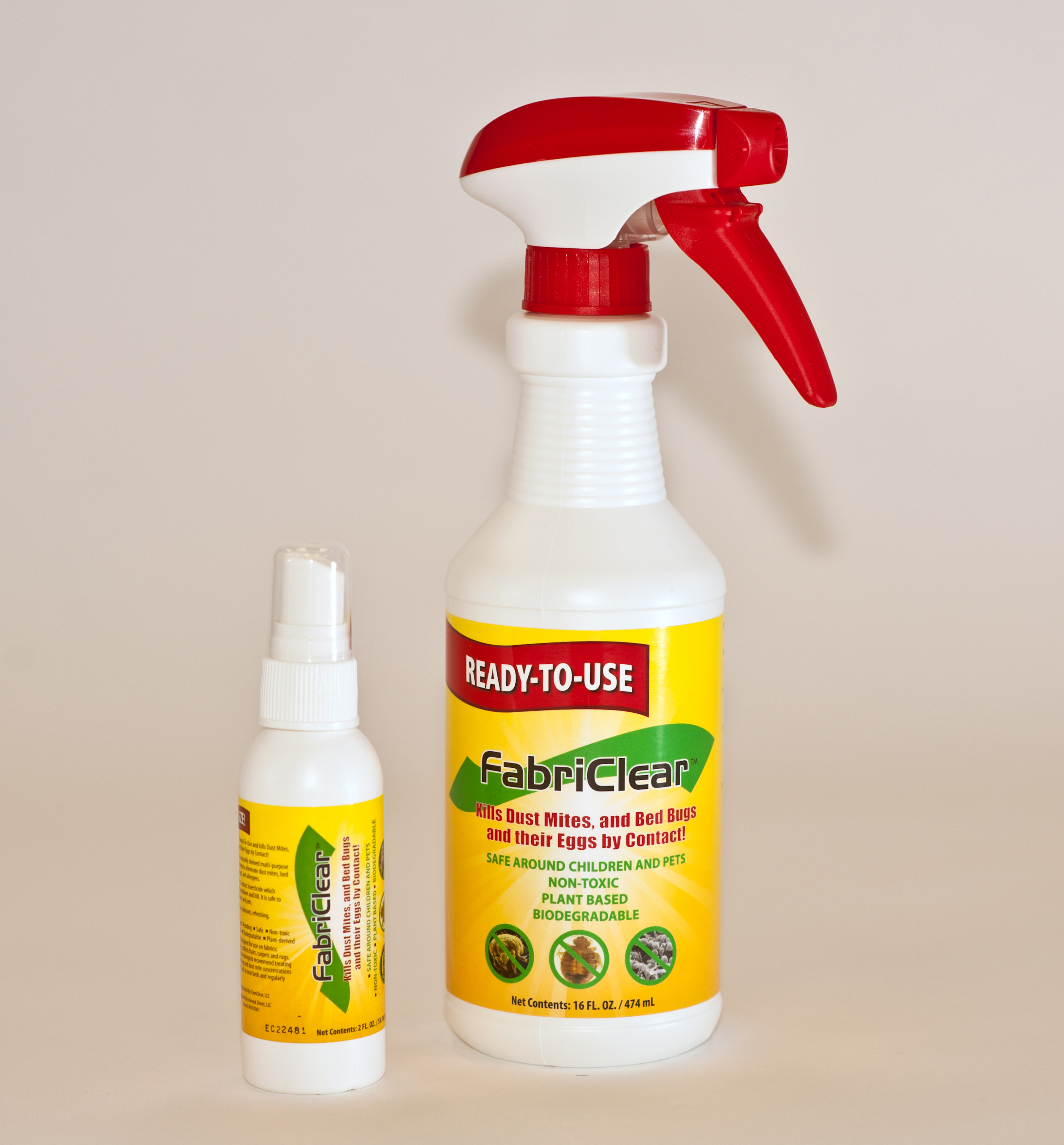 Fabriclear Bed Bug Spray  Oz