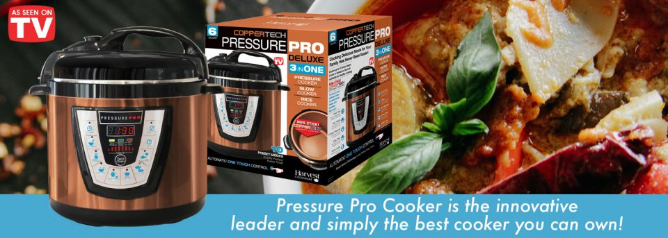 Harvest Direct Tv Home Pressure Pro Cooker Garden